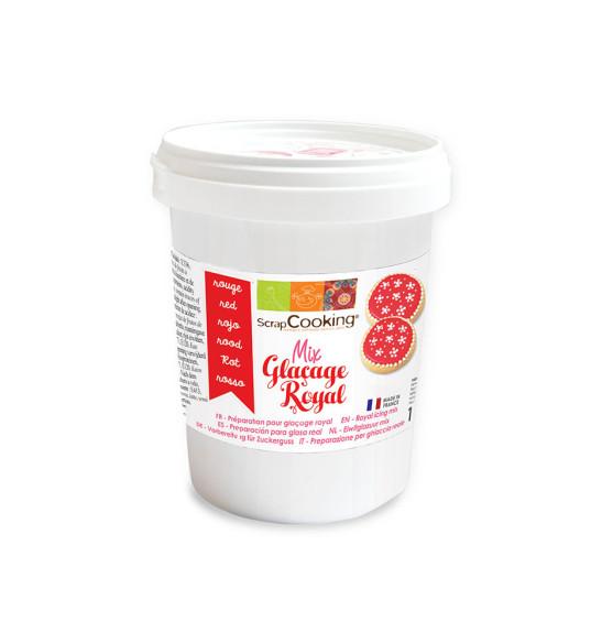 Mix glaçage royal rouge