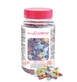 Pot of multicolour stars...