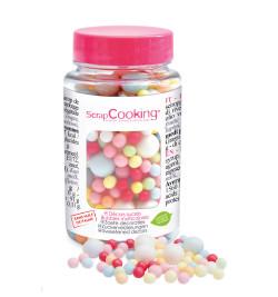 Pot of multicolour bubbles...