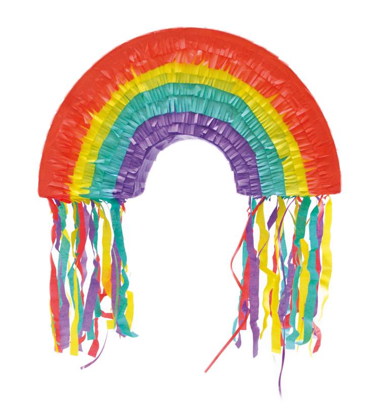 Piñata rainbow