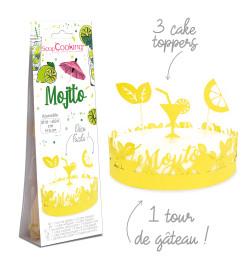Déco gâteau mojito réf.4911