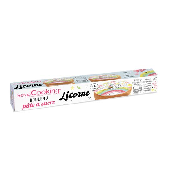 Rouleau pâte à sucre Licorne 150 gr