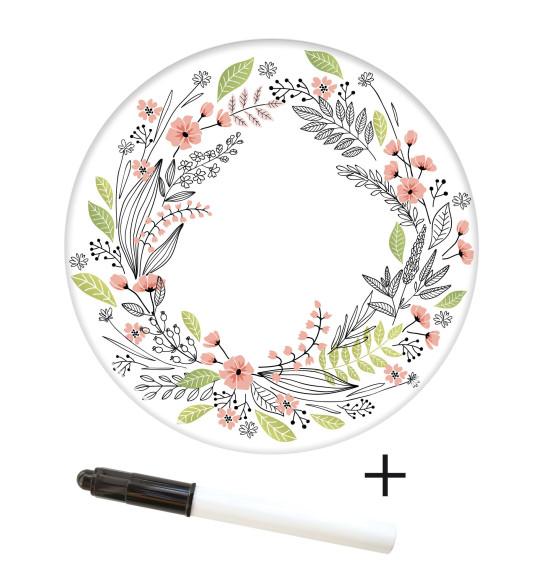 Rouleau pâte à sucre à personnaliser Flower