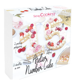 Atelier number cake réf.3810