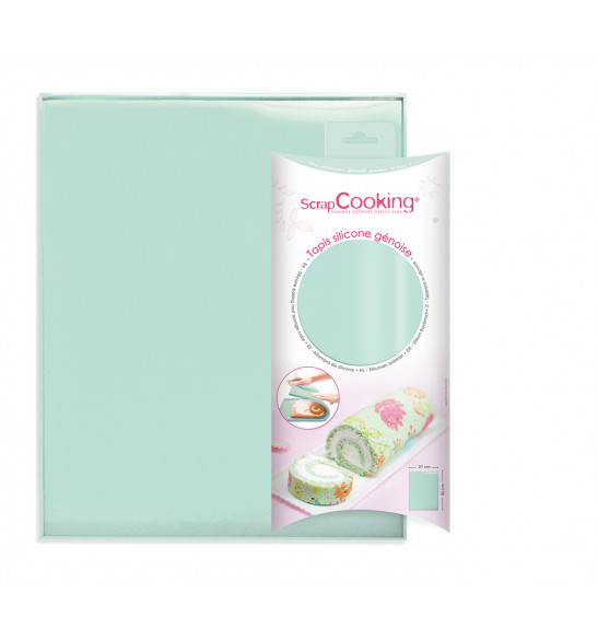 Silicone mat 27x36 cm for making sponge cakes