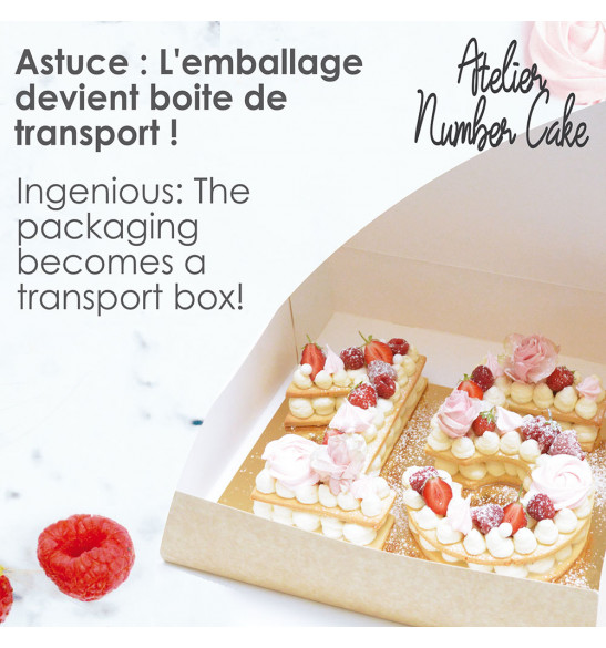 Atelier number cake