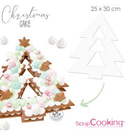 Gabarits Christmas cake réf.3912