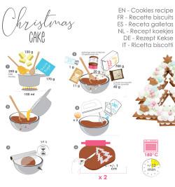 Christmas cake réf.3912