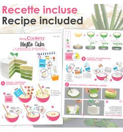 Recette Kit Mojito cake réf.3928