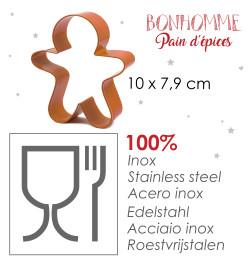 Kit bonhomme pain d'épices réf.3979