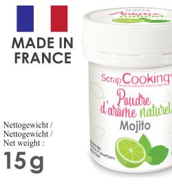 Pot de poudre d'arôme naturel mojito réf.4457