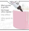 Glaçage blanc goût choco - Drip cake