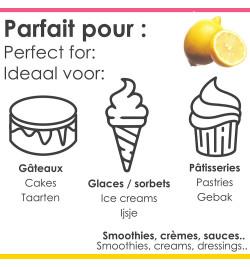 Pâte concentrée de fruits Citron réf.4750