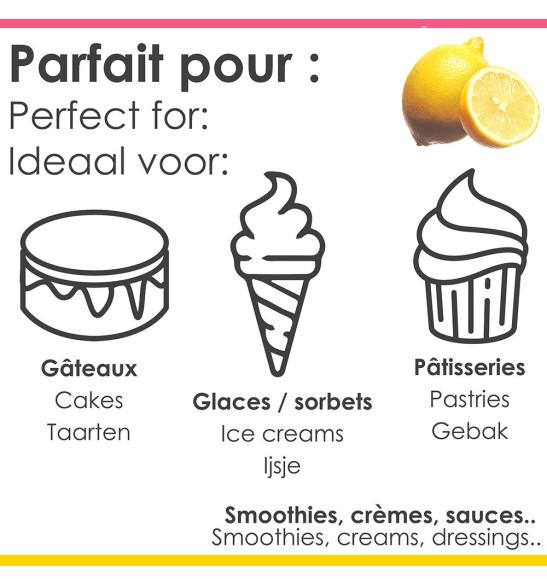 Pâte concentrée de fruits Citron