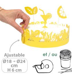 Déco gâteau mojito réf.4912