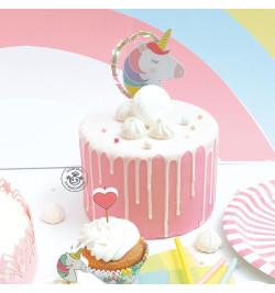 Cake topper led Licorne réf.4967