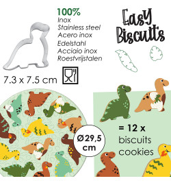 Easy biscuits dino réf.7294