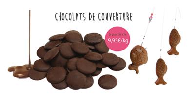 Catégorie chocolat & bonbons pour réaliser des friandises home made !