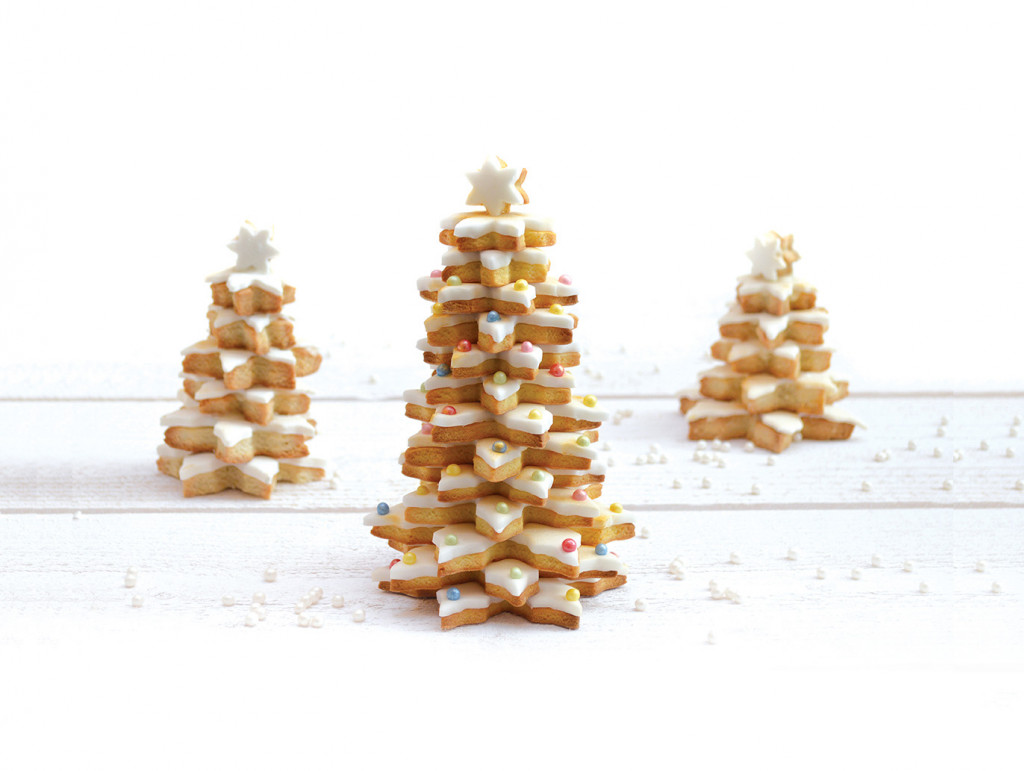 Comment faire un sapin de Noël en biscuits