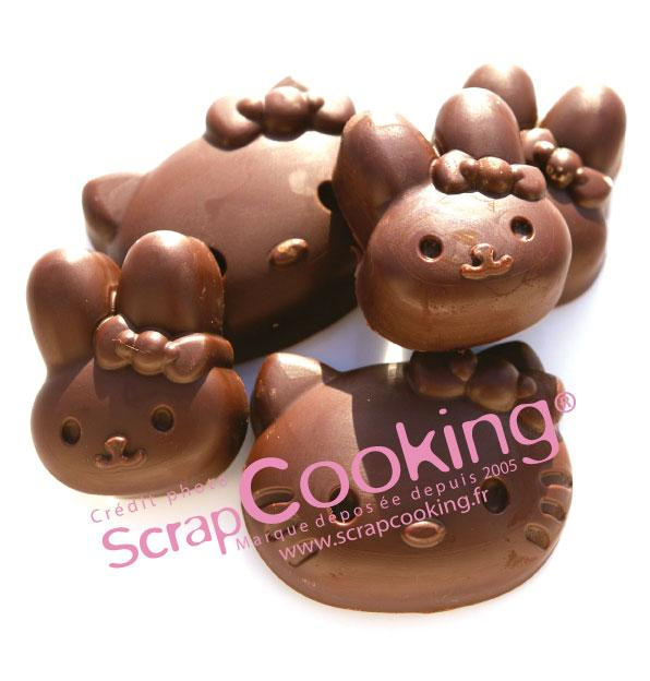 Hello Kitty au chocolat