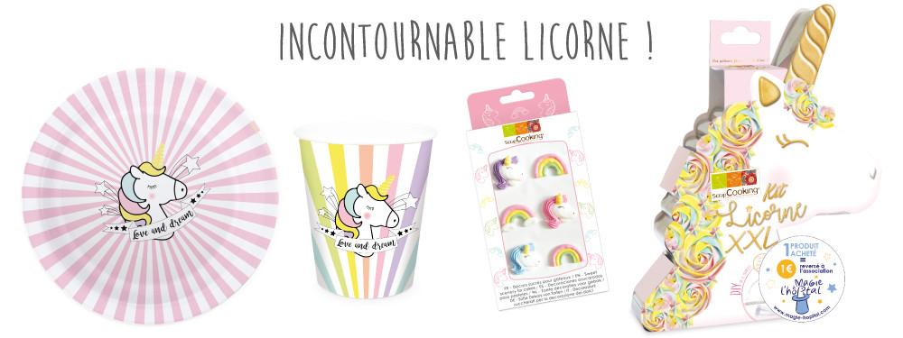 Licorne DIY